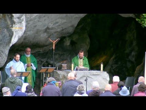 Messe à Lourdes du 16 juin 2020