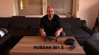 DROHNE - HUBSAN 501 S - REVIEW