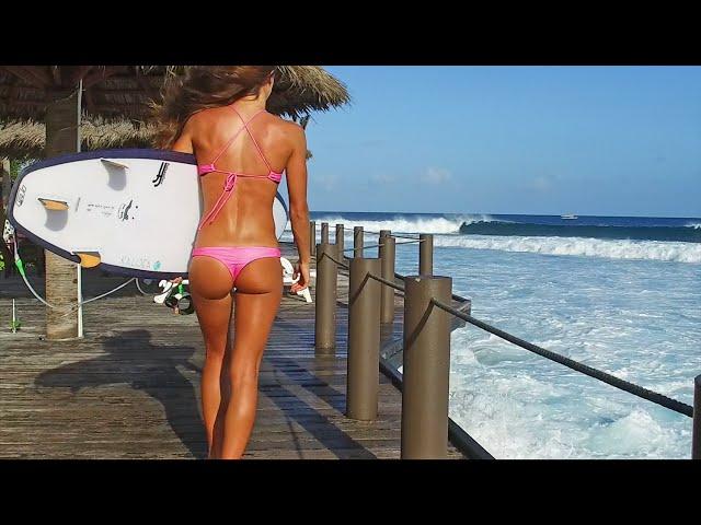 KALOEA Surfer Girls -  Mesh Bikini Collection (HD Maldives)