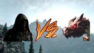 Skyrim: Соловей VS Дракон