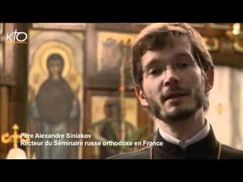 Père Alexandre Siniakov - recteur du séminaire orthodoxe russe en France