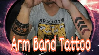 Arm Band Tattoo: Timelapse