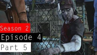 The Walking Dead: Season 2 - Episode 4 - Gameplay Walkthrough Part 5 | iMAV3RIQ