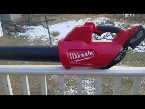 Milwaukee 18v Fuel Blower Review (2728-21)
