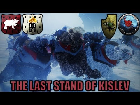 THE LAST STAND OF KISLEV - Nurgle Invasion 2v2 - Total War Warhammer 2