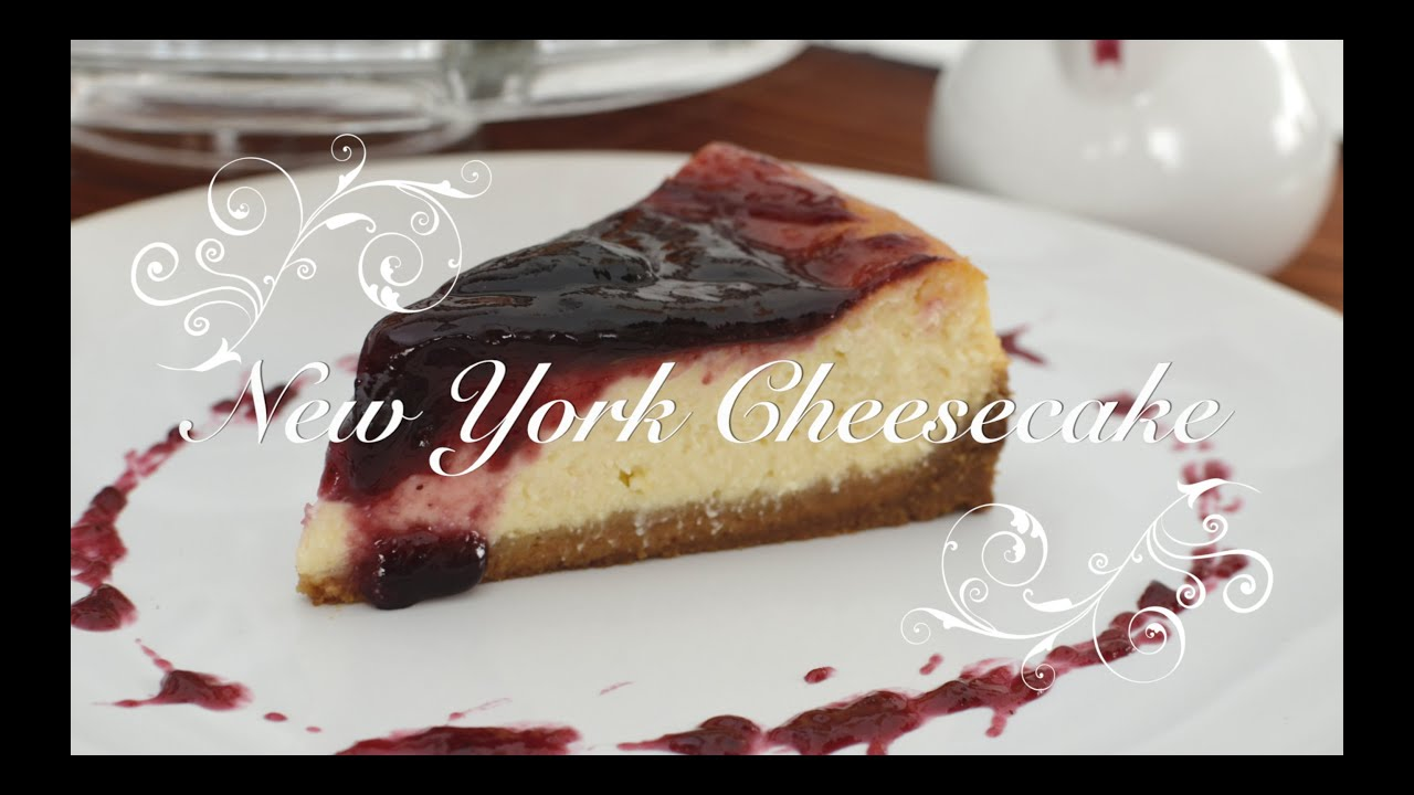 New York Cheesecake | Recetas de Cheesecake | New York Cheesecake receta por chef de mi casa.com