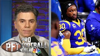 Los Angeles Rams Owe Todd Gurley, Clay Matthews Money | Pro Football Talk | NBC Sports