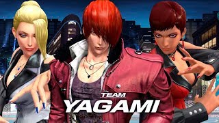 The King of Fighters ALLSTAR | Unreleased Characters of Team Yagami