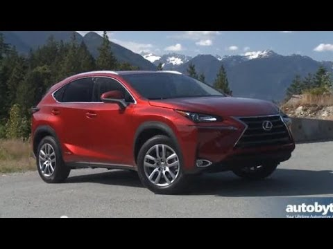 2015 Lexus NX 300h Test Drive and Video Review