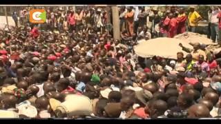 Rais Kenyatta na Naibu wake wazuru Nairobi