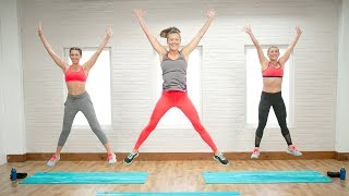 20-Minute Metabolism-Boosting HIIT Workout | Class FitSugar by POPSUGAR Fitness