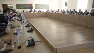 ԱԳ նախարարի տեղակալի հանդիպումը Հայաստանում հավատարմագրված դիվանագիտական ներկայացուցչությունների ղեկավարների հետ