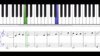 Let There Be Peace On Earth a Christmas song for piano level 5