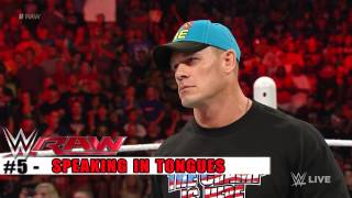 Top 10 Raw Moments  WWE Top 10, June 22, 2015