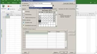 MS Project: Delete Calendar