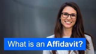 What Is an Affidavit (Quick Guide)