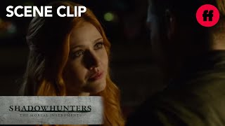 Shadowhunters | Season 1, Episode 9: Jace Tells Clary She's Right | Freeform
