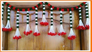How To Make Door Hangings//Diwali Decoration Ideas..