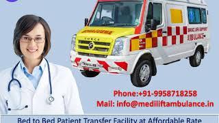 Fastest Ambulance Service in Kidwaipuri and Phulwari Sharif Patna