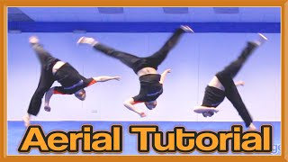 Aerial Tutorial (No Handed Cartwheel) | GNT How to