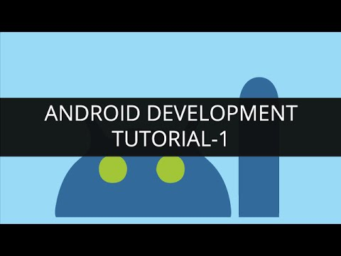 Android Development Tutorial: Android Basics| Android App ...