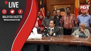 """MGTV LIVE : """"Wang Yang Diterima Adalah Wang Dana Politik.."""" - Ahmad Maslan"""