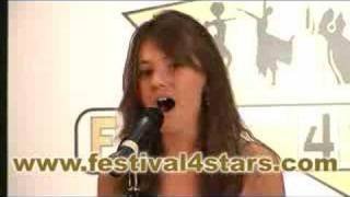 Faryl Smith At Festival4Stars Competition 2007.