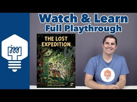 JonGetsGames - The Lost Expedition Full Playthrough