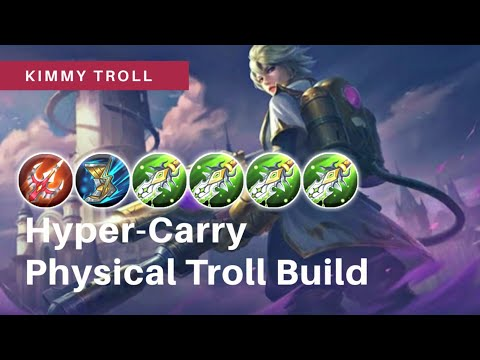 New Hero - Kimmy Troll Physical Build Hyper Carry Gameplay in Advance  Server - Savage King Mobile Gaming