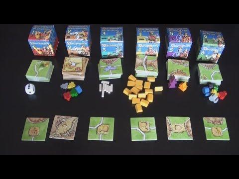 Carcassonne - de Mini Uitbreidingen