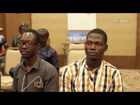 Conférence de presse de la Chef Observateur le 11 juillet 2018 à Bamako (Mali)