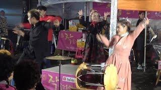 구월이&신이 &윤정&하니/뉴페이스(퓨전난타)강남 스타일~금산 인삼 축제 18/10/06
