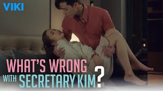 What's Wrong With Secretary Kim? - EP13 | Park Seo Joon Tucks Her In Bed [Eng Sub]