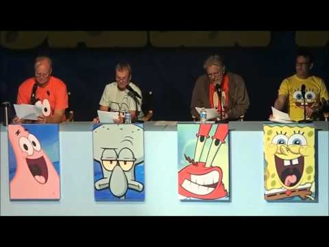 SpongeBob: Live Read of Help Wanted, Sept 7, 2013 FULL EVENT