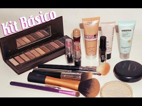 Kit de Maquiagem Básico