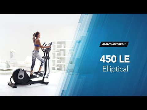 ProForm 450 LE Elliptical Cross Trainer - Video Presentation