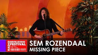 Radio Bevrijdingsfestival 2021 - Sem Rozendaal - Missing Piece