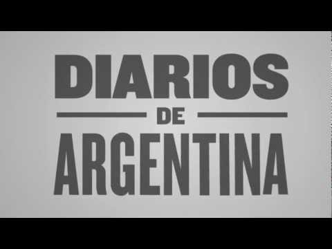 Video of Newspapers from Argentina