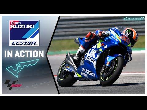 Suzuki in action: Red Bull Grand Prix of the Americas