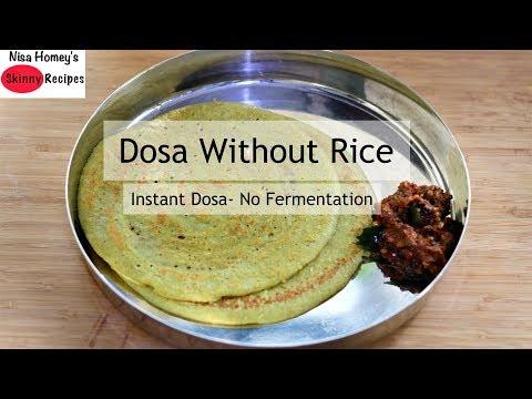 Gluten Free Instant Quinoa Dosa Recipe – Healthy Quinoa Recipes – Skinny Recipes To Lose Weight Fast