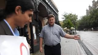 Саратовский антиглобалист против сторонника G20 из консерватории