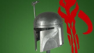 making a metal boba fett helmet