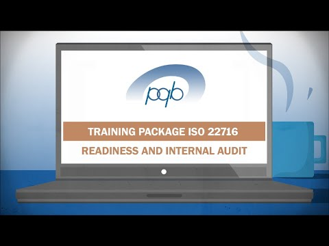 Online training package ISO 22716 cosmetics - YouTube