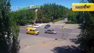 ДТП авария г  Волжский пр  Ленина ул  Комсомольская 15 08 2018 11 39