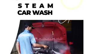 Why Steam Car Wash is Beneficial for Your Car? Must Watch