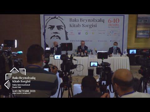 bakubookfair Пресс конференция