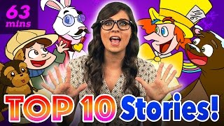 Kids Stories with Ms. Booksy - Compilation | Story Time with Ms. Booksy at Cool School