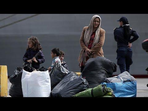Στην ενδοχώρα 215 πρόσφυγες από την Μόρια