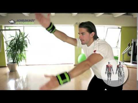 Schildkröt Fitness - Gewichtsmanschette Arm und Bein - Wrist and Ankle Weights by Reactsport.com
