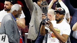 Kawhi Leonard Gets Finals MVP, Postgame Interview - Game 6 | 2019 NBA Finals